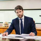 Jon Arias es Jorge Leiva en la serie de La 1, 'Derecho a soñar'