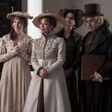 La Duquesa de Osuna y Goya junto a varios actores en 'El Ministerio del Tiempo'