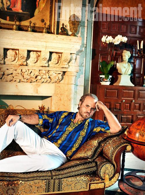 Edgar Ramírez es Gianni Versace en 'The Assassination of Gianni Versace: American Crime Story'