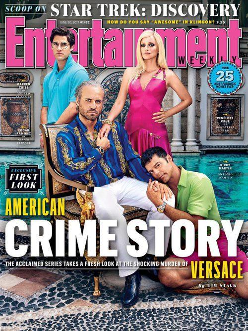 Los protagonistas de 'The Assassination of Gianni Versace: American Crime Story' protagonizan la nueva portada de Entertainment Weekly