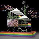 Set de laSexta en el World Pride Madrid 2017 visto desde uno de los frentes
