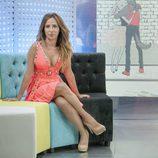 María Patiño posa sentada para 'Socialité by Cazamariposas'