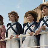 Las enfermeras de 'Tiempos de guerra' miran al horizonte