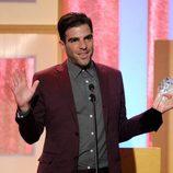 Zachary Quinto en los premios Critics Choice Television