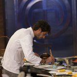 Jorge cocinando en la final de 'MasterChef 5'