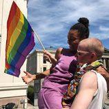 Algunos actores de la serie 'Skam' disfrutaron durante el Oslo Pride