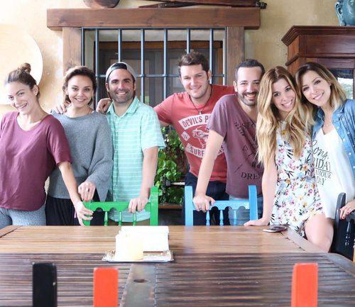 Geno Machado, Chenoa, Naim Thomas, Manu Tenorio, Alejandro Parreño, Natalia y Gisela ('Operación Triunfo')