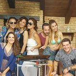 Chenoa, Gisela, Nuria Fergó, Geno Machado, Alejandro Parreño, Natalia y Manu Tenorio ('Operación Triunfo')