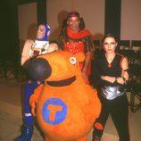 El Capitán Lapa, Rocko Alicates, Cybercelia y Trasto, personajes principales de 'Cyberclub'