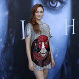 Sophie Turner en la premiere de la séptima temporada de 'Juego de Tronos' en Los Ángeles
