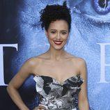 Nathalie Emmanuel en la premiere de la séptima temporada de 'Juego de Tronos' en Los Ángeles