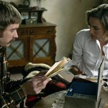 Cristina Alcázar y Pablo Rivero en 'Cuéntame'
