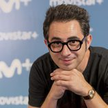 Berto Romero en la presentación de 'Mira lo que has hecho', la nueva serie de Movistar +