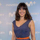 Eva Ugarte durante la presentación de la nueva serie de Movistar +, 'Mira lo que has hecho'