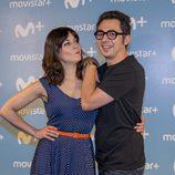 Berto Romero y Eva Ugarte son los protagonistas de la serie 'Mira lo que has hecho'