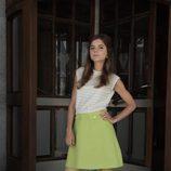 Así es el look de Lucía Díez en 'Velvet colección'