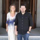 Los creadores de 'Velvet colección' posan sonrientes