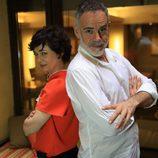 Diana Lázaro y Miguel Mota fueron Cybercelia y Rocko Alicates en 'Cyberclub'
