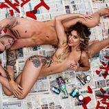 Rodri y Bea ('GH 17') posan tumbados y desnudos para Primera Línea
