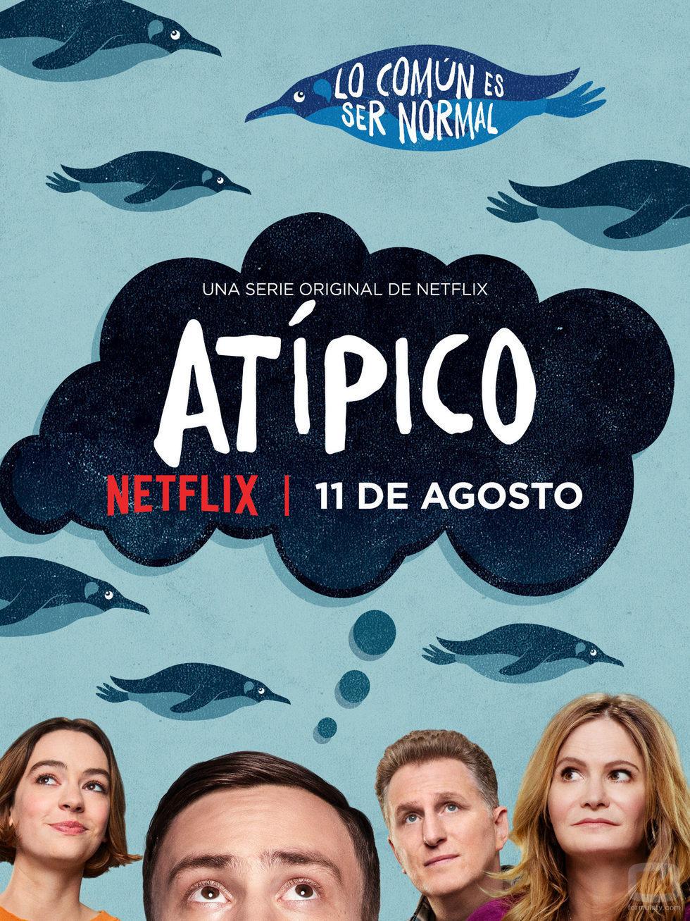 Póster de 'Atípico', la nueva serie de Netflix