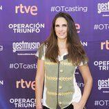 Nuria Fergó posa en los castings de 'OT 2017' en Madrid