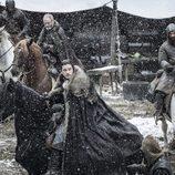 Jon Nieve en el segundo capítulo de la séptima temporada de 'Juego de Tronos'
