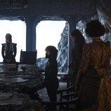 Daenerys, Tyrion y Yara en el segundo capítulo de la séptima temporada de 'Juego de Tronos'