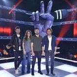 Juanes, Pablo López, Manuel Carrasco y Malú, coaches de 'La Voz'
