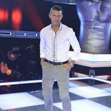 Jesús Vázquez posa en la presentación de 'La Voz' y 'La Voz Kids'