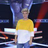 Tania Llasera posa en la presentación de 'La Voz' y 'La Voz Kids'
