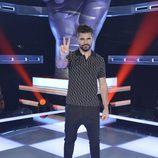 Juanes posa en la presentación de 'La Voz' y 'La Voz Kids'