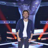 Manuel Carrasco posa en la presentación de 'La Voz' y 'La Voz Kids'