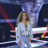 Rosario Flores posa en la presentación de 'La Voz' y 'La Voz Kids'