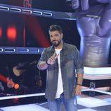 Antonio Orozco posa en la presentación de 'La Voz' y 'La Voz Kids'