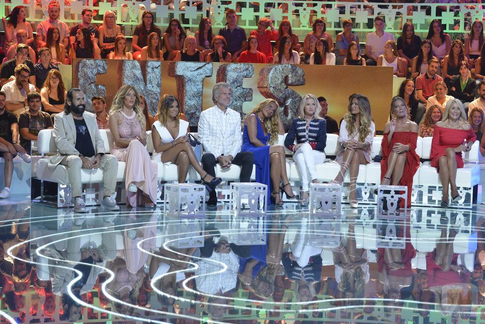 Concursantes de 'Supervivientes 2017' en la gala final