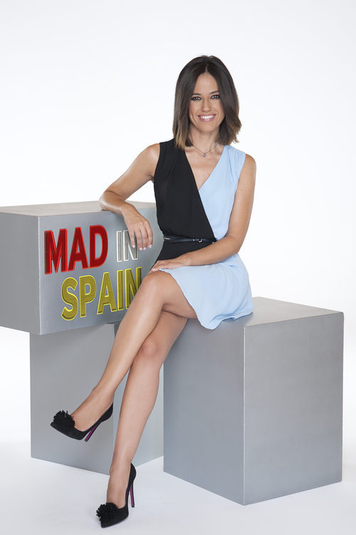 Núria Marín, copresentadora de 'Mad in Spain'