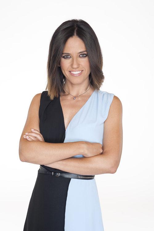 Núria Marín posando para la imagen promocional de 'Mad in Spain'