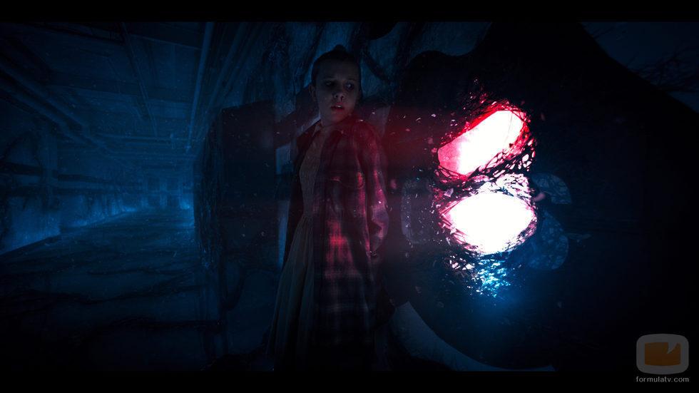 Eleven en la segunda temporada de 'Stranger Things'