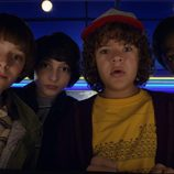 Dustin, Will, Lucas y Mike en la segunda temporada de 'Stranger Things'