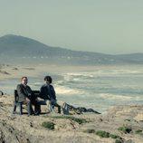 Javier Rey y Antonio Durán Morris en 'Fariña'