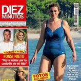 Carlota Corredera luce cuerpo en la portada de Diez Minutos