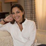 Cristina Plazas (Laura) posa para las fotos promocionales de 'Estoy vivo'