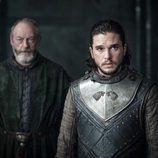 Jon Nieve y Sir Davos en el 7x03 de 'Juego de Tronos'