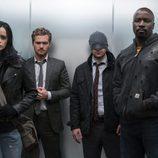 Los superhéroes de 'The Defenders'