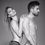 Ivonne Reyes y Sergio Ayala posan semidesnudos