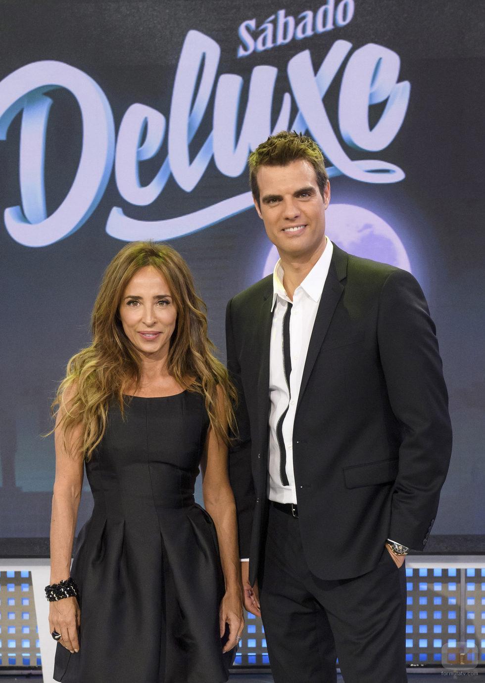 María Patiño y David Aleman en 'Sábado Deluxe'