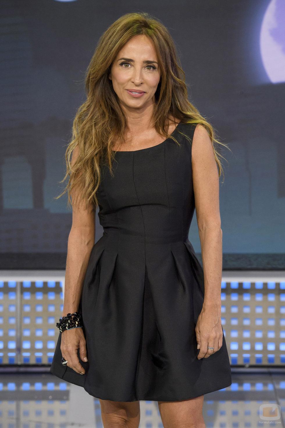 María Patiño en el plató de 'Sábado Deluxe'
