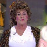 """Chelo García-Cortés disfrazada de """"La maja desnuda"""" en 'Sálvame'"""