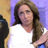 """María Patiño disfrazada de """"La Inmaculada del Escorial"""" en 'Sálvame'"""
