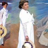"""Terelu Campos disfrazada de """"El paseo en la orilla"""" en 'Sálvame'"""
